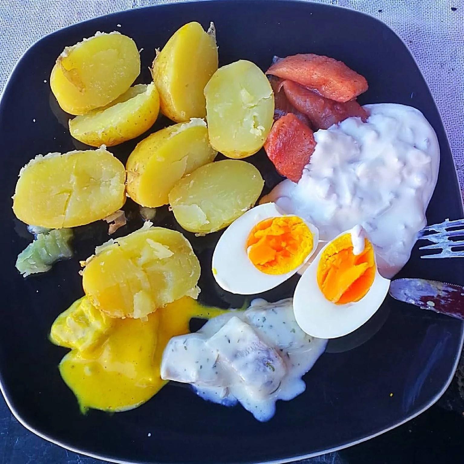 Sill och potatis igen....