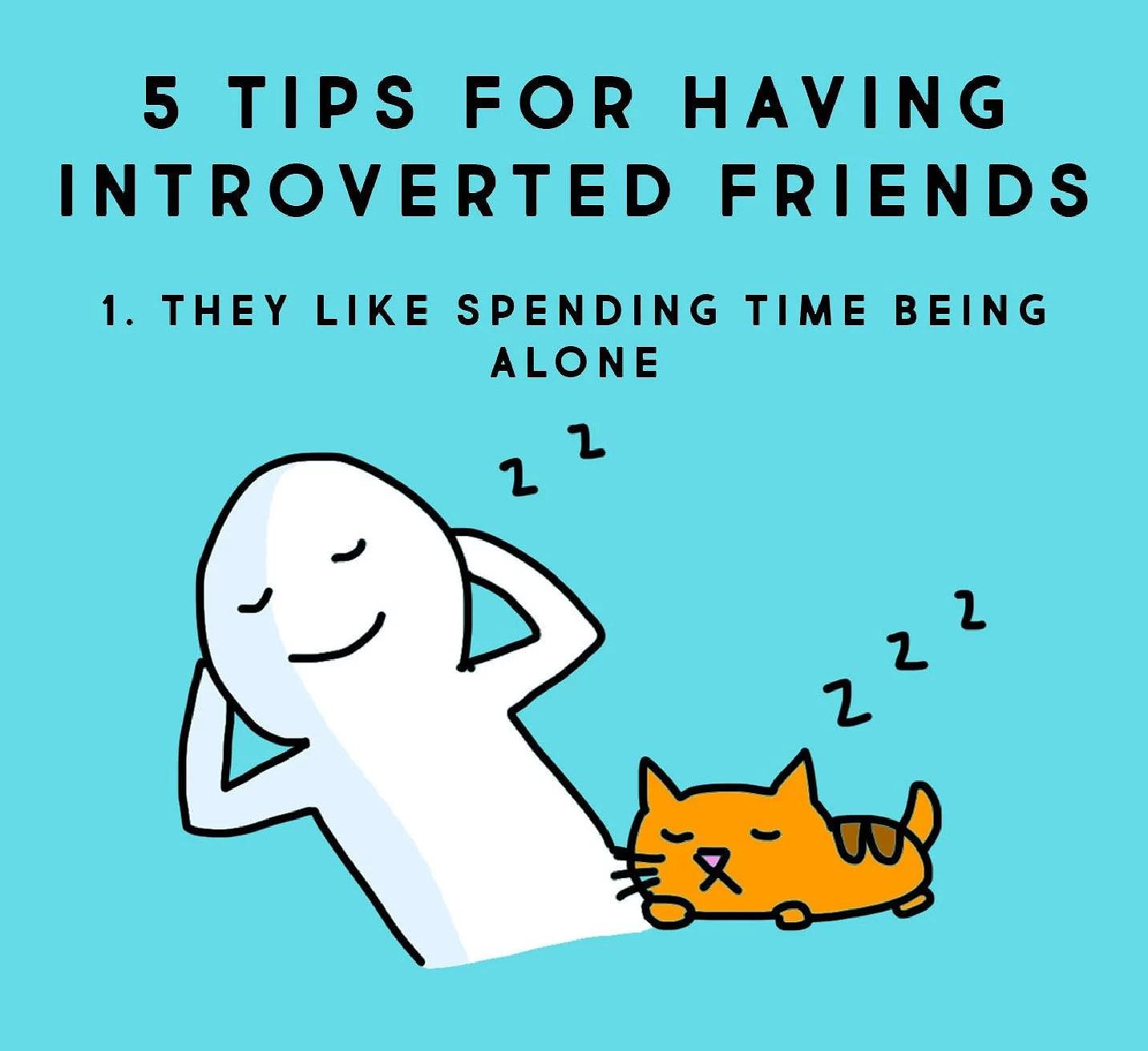 5 tips om du har introverta vänner