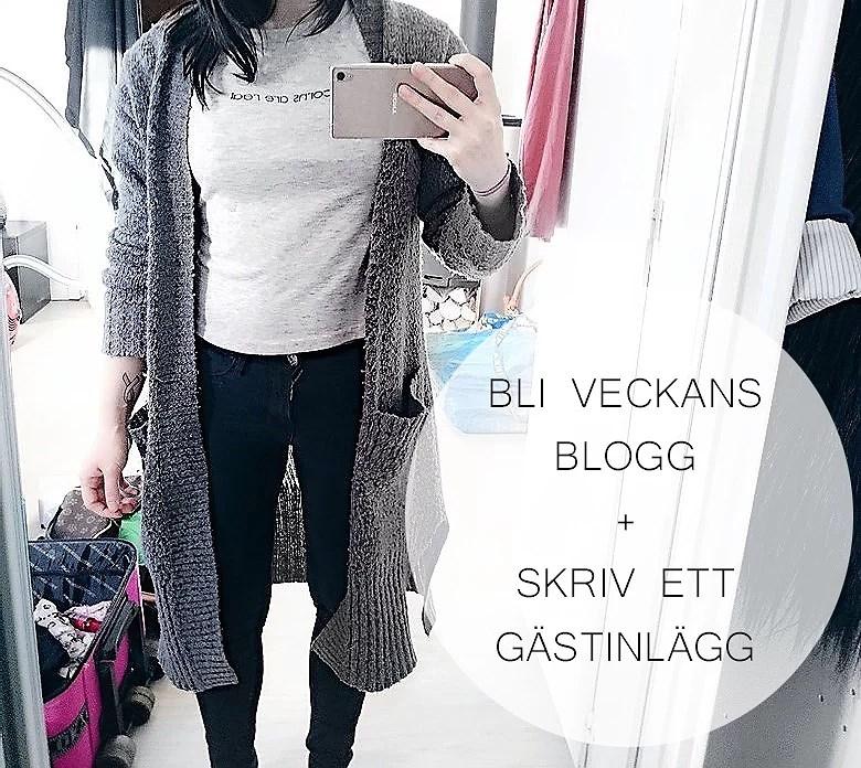 Bli veckans blogg + gästinlägg