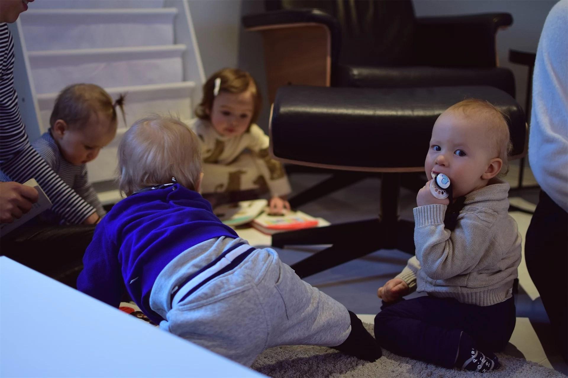 Första mamma-barn träffen <3