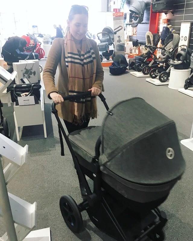 Testa barnvagn