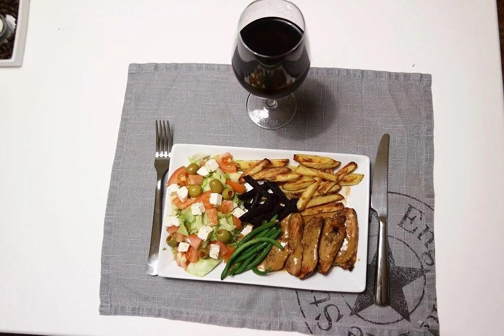 Lördagens middag