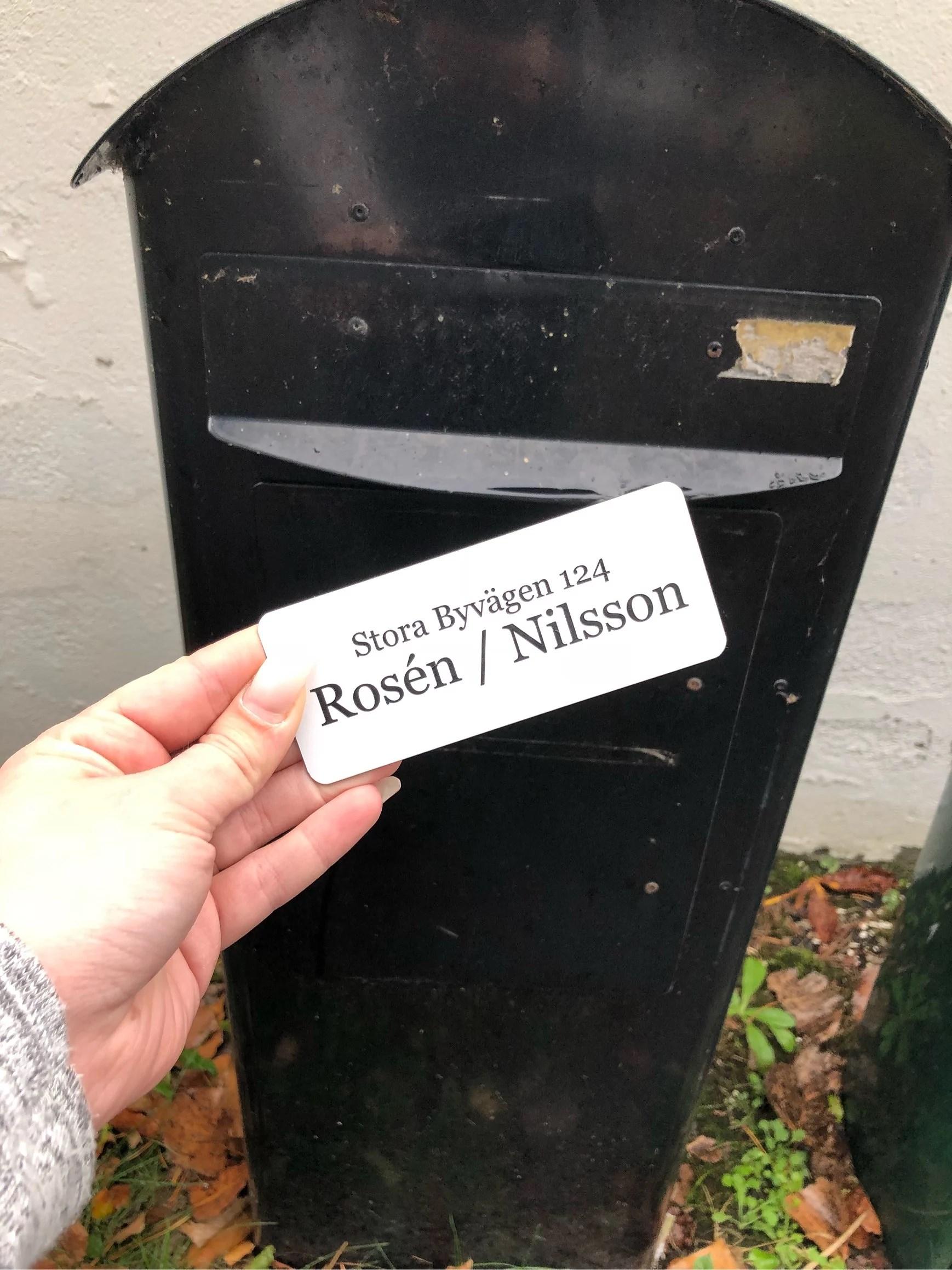 Vi har ett namn!