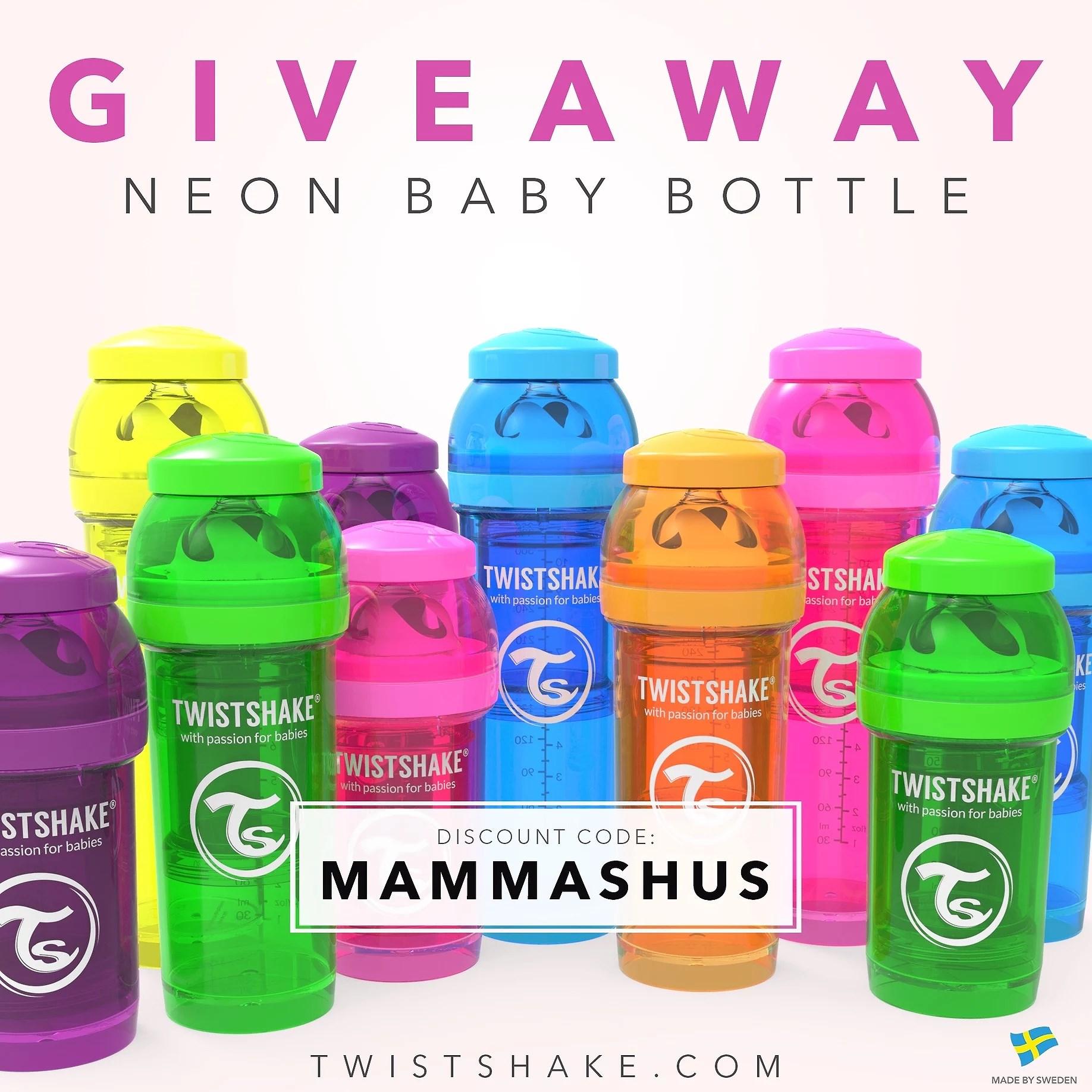 Giveaway med Twistshake!