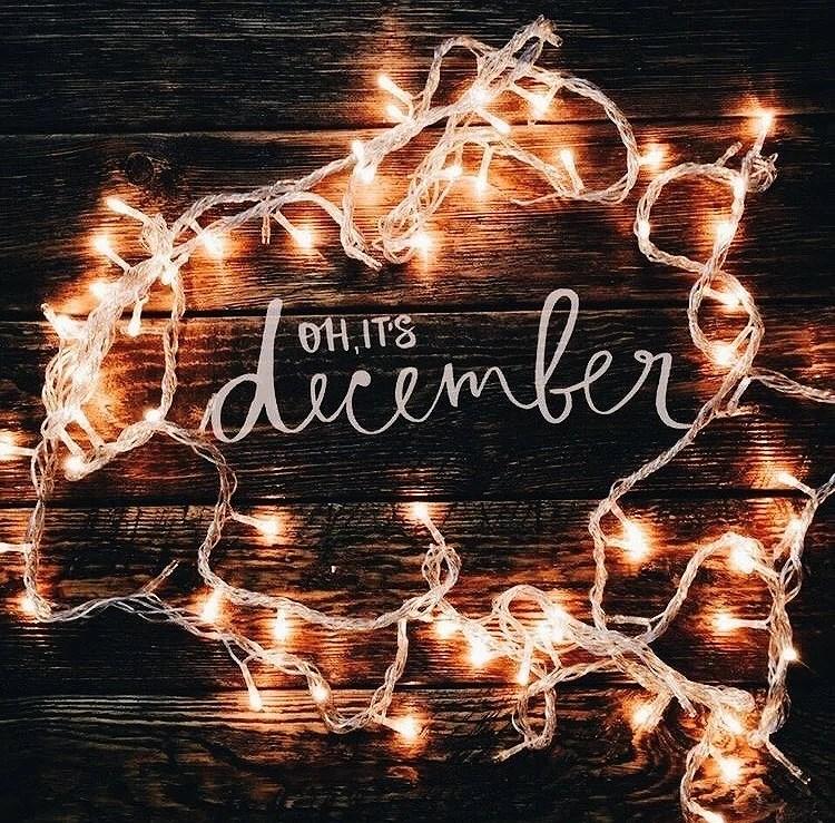 OH, IT'S DECEMBER