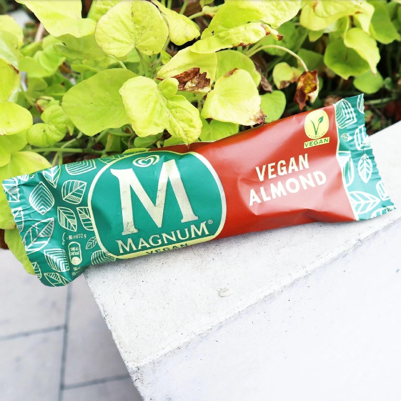 Nyhet - Vegansk Magnum Mandel