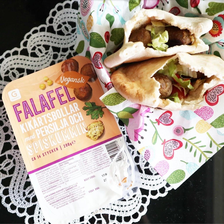 garant falafel vegansk