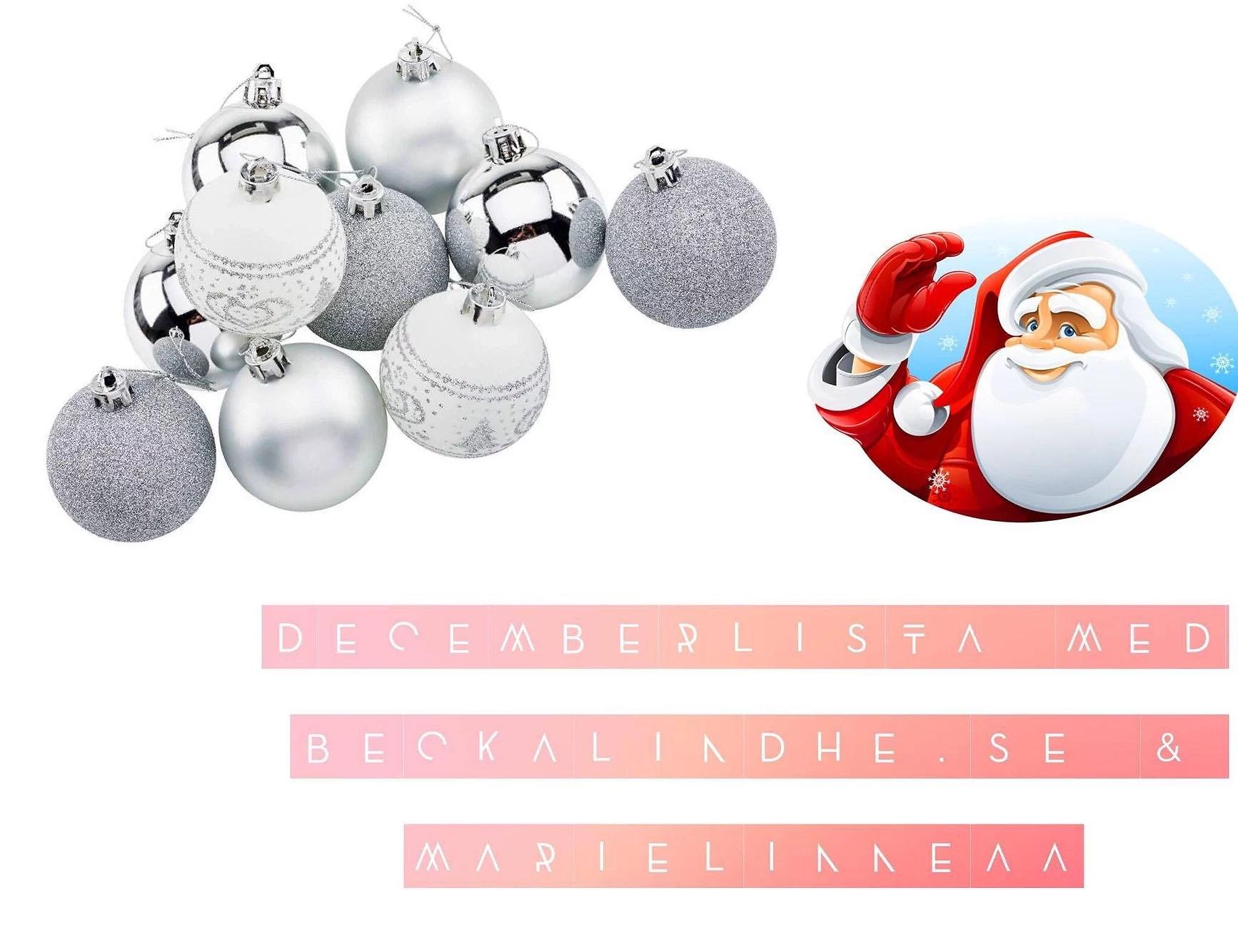 Decemberlista dag 1