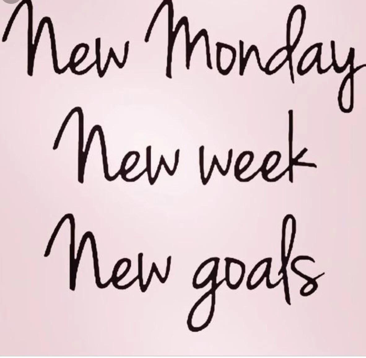Ny vecka och nytt jobb!