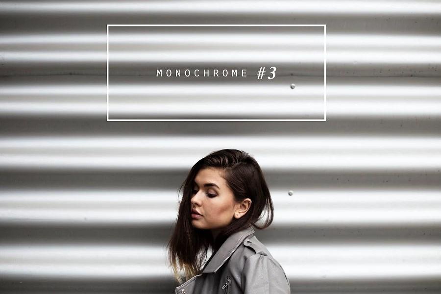 monochrome #3 -