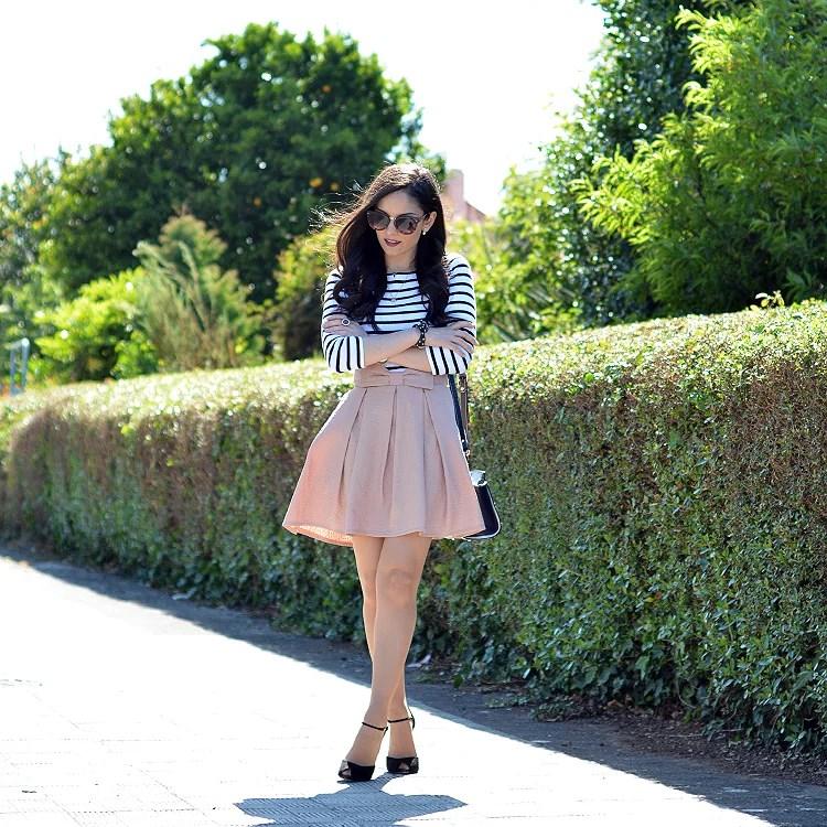 zara_chicwish_ootd_outfit_como_combinar_stripes_falda_02