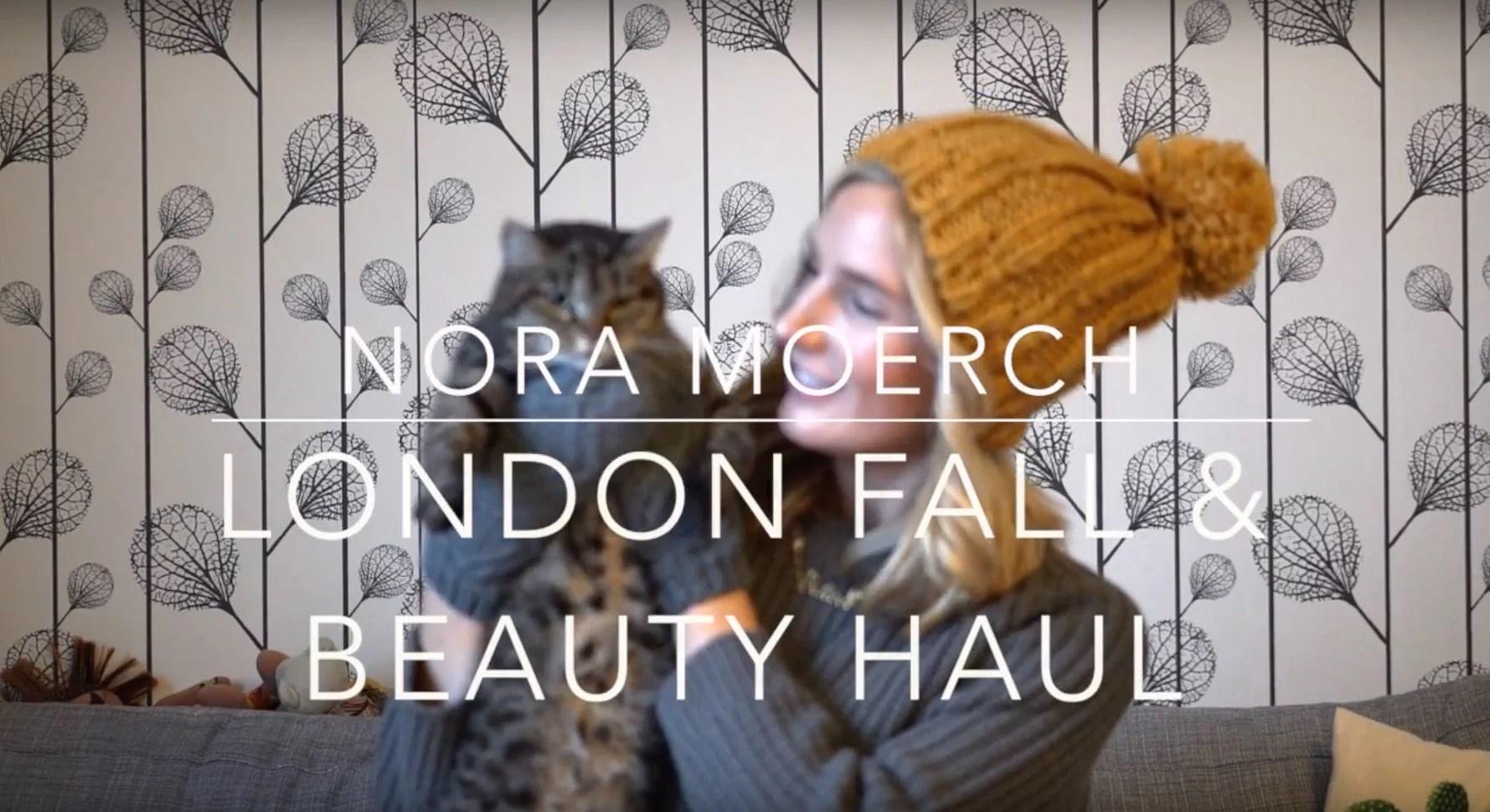 London Fall Accessories & Beauty Haul Video