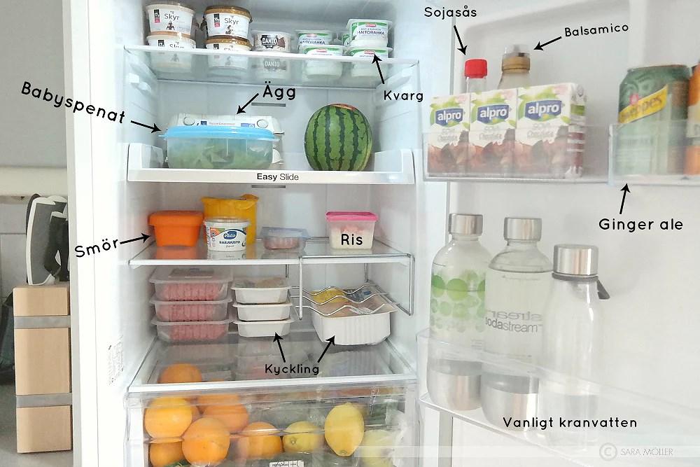 I vårt kylskåp