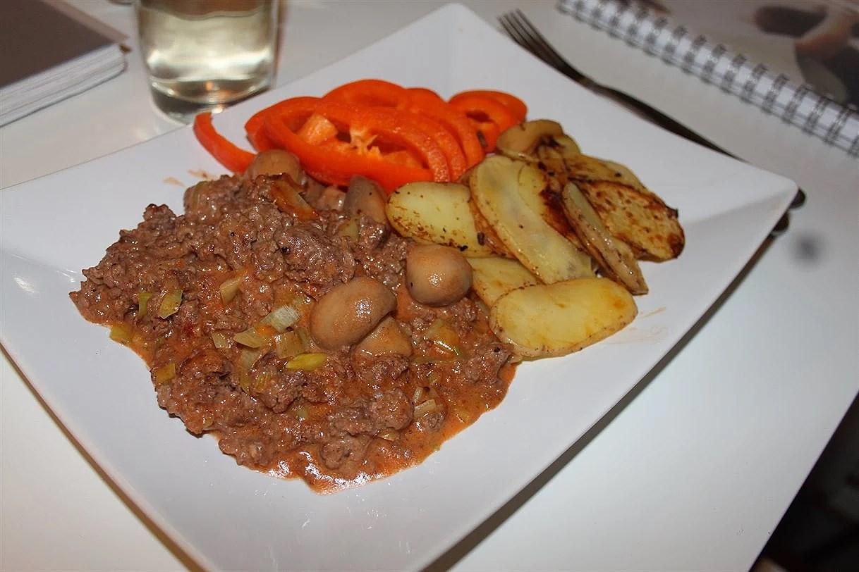 Foodprep: Köttfärsås & Potatis