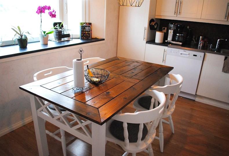 Kök bygga köksbord : Mitt alldeles egna köksbord | Malinskriver Blogg