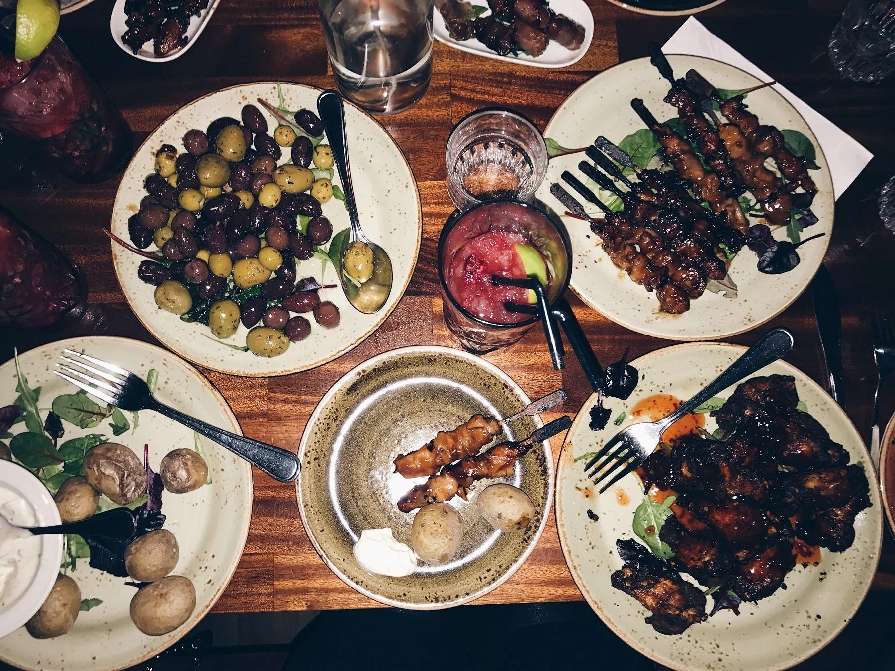 Middag på Manana
