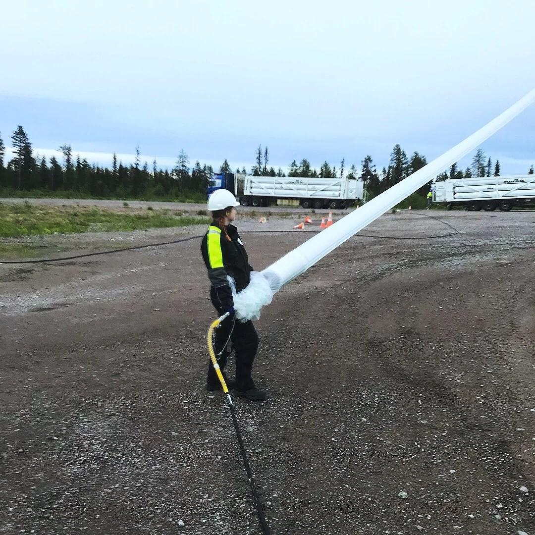 NASA balloon launch