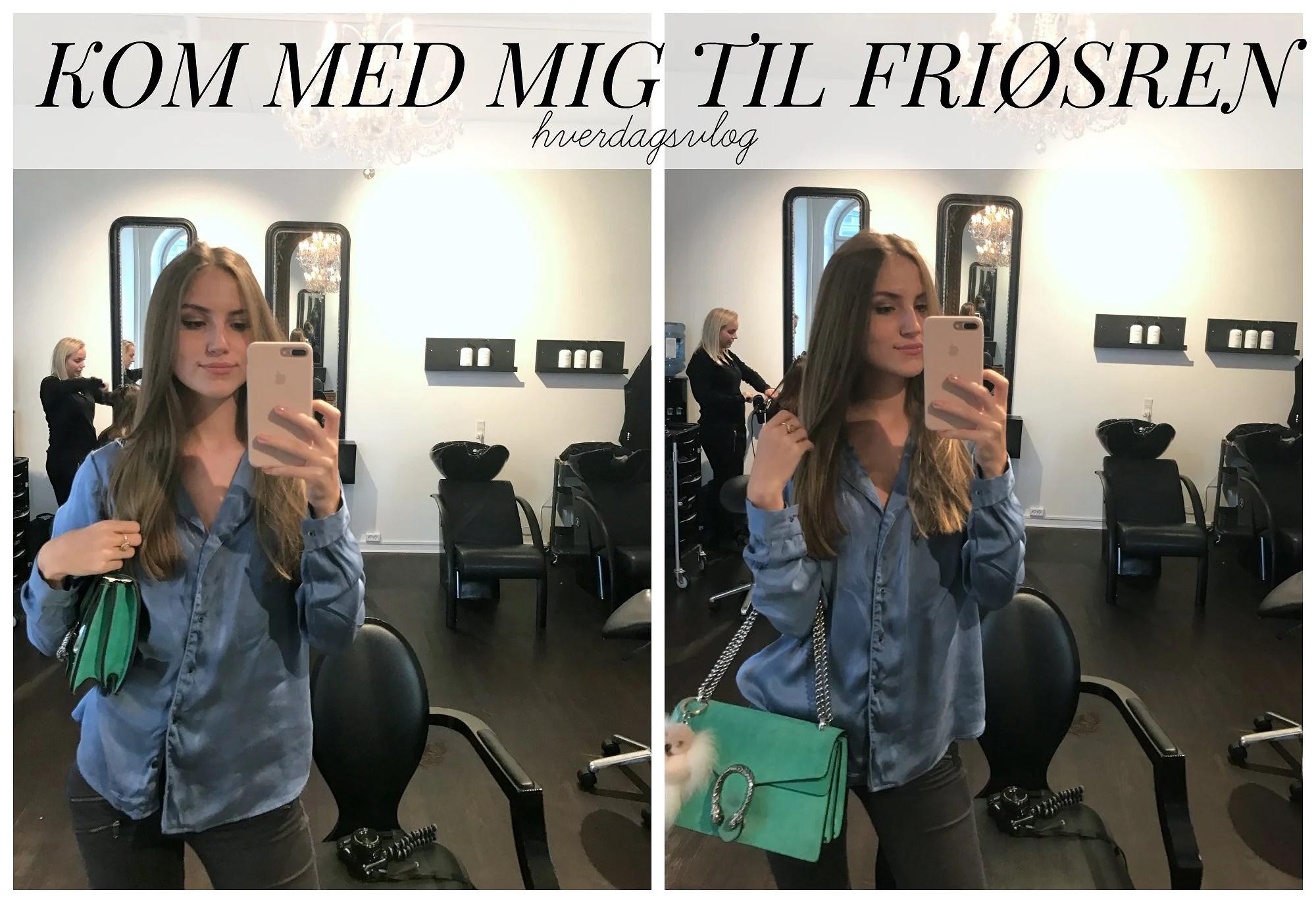 VIDEO: KOM MED MIG TIL FRISØREN