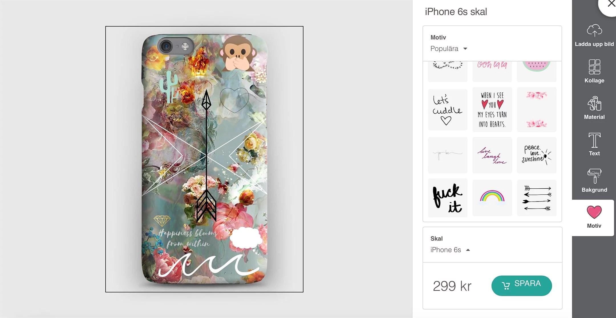 Rabattkod CaseApp + hur jag designade mitt mobilskal!
