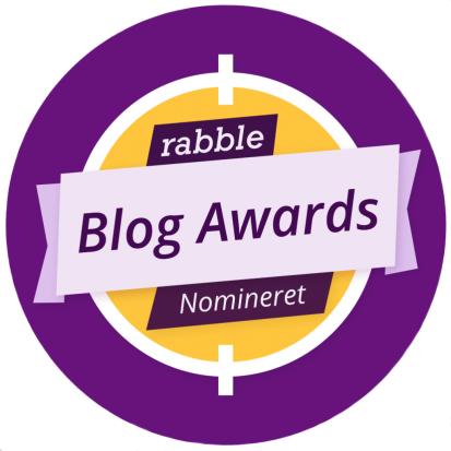Nomineret som årets livsstilsblogger ✨