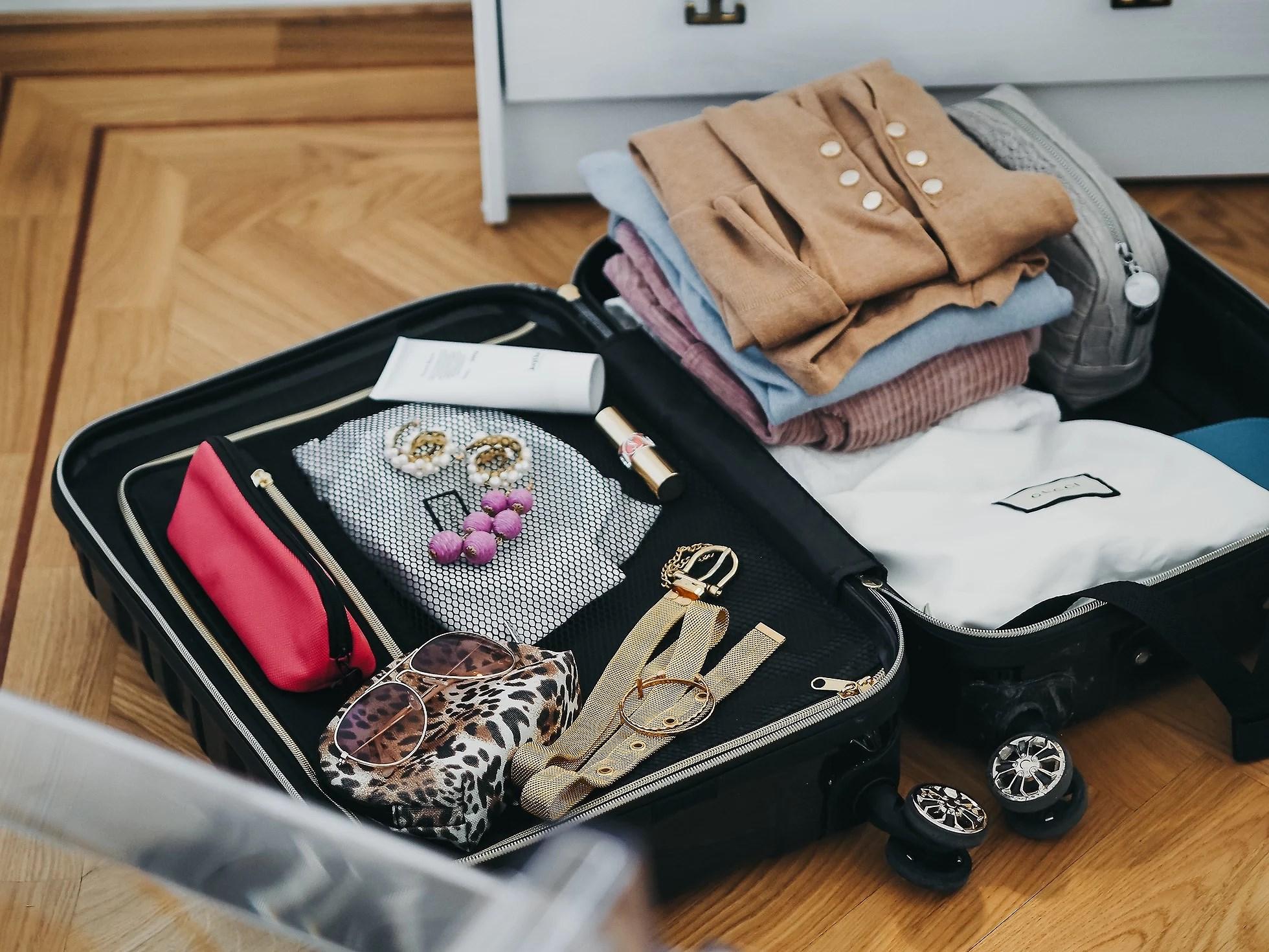 I kofferten min
