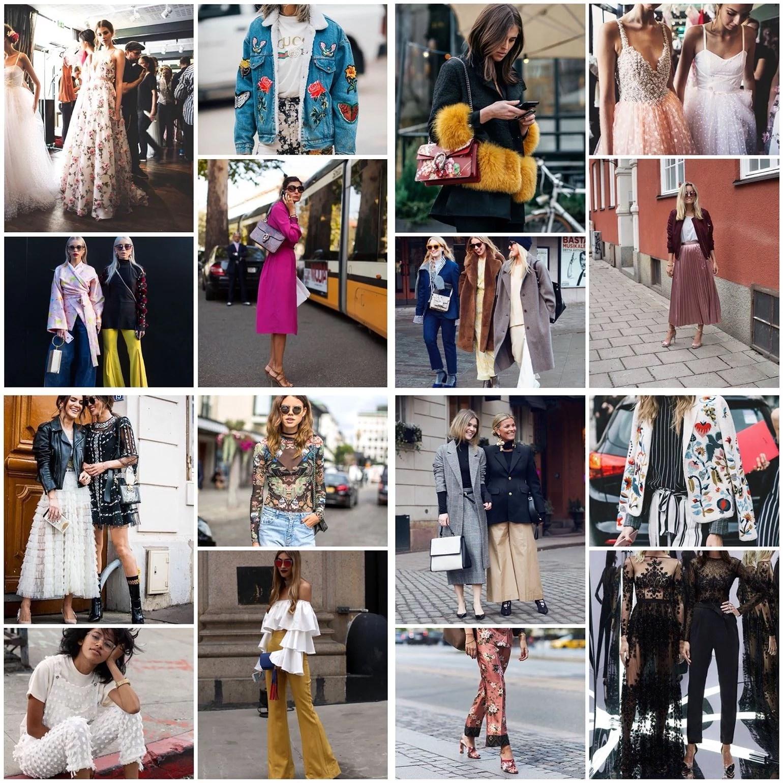 Fashion week inspo
