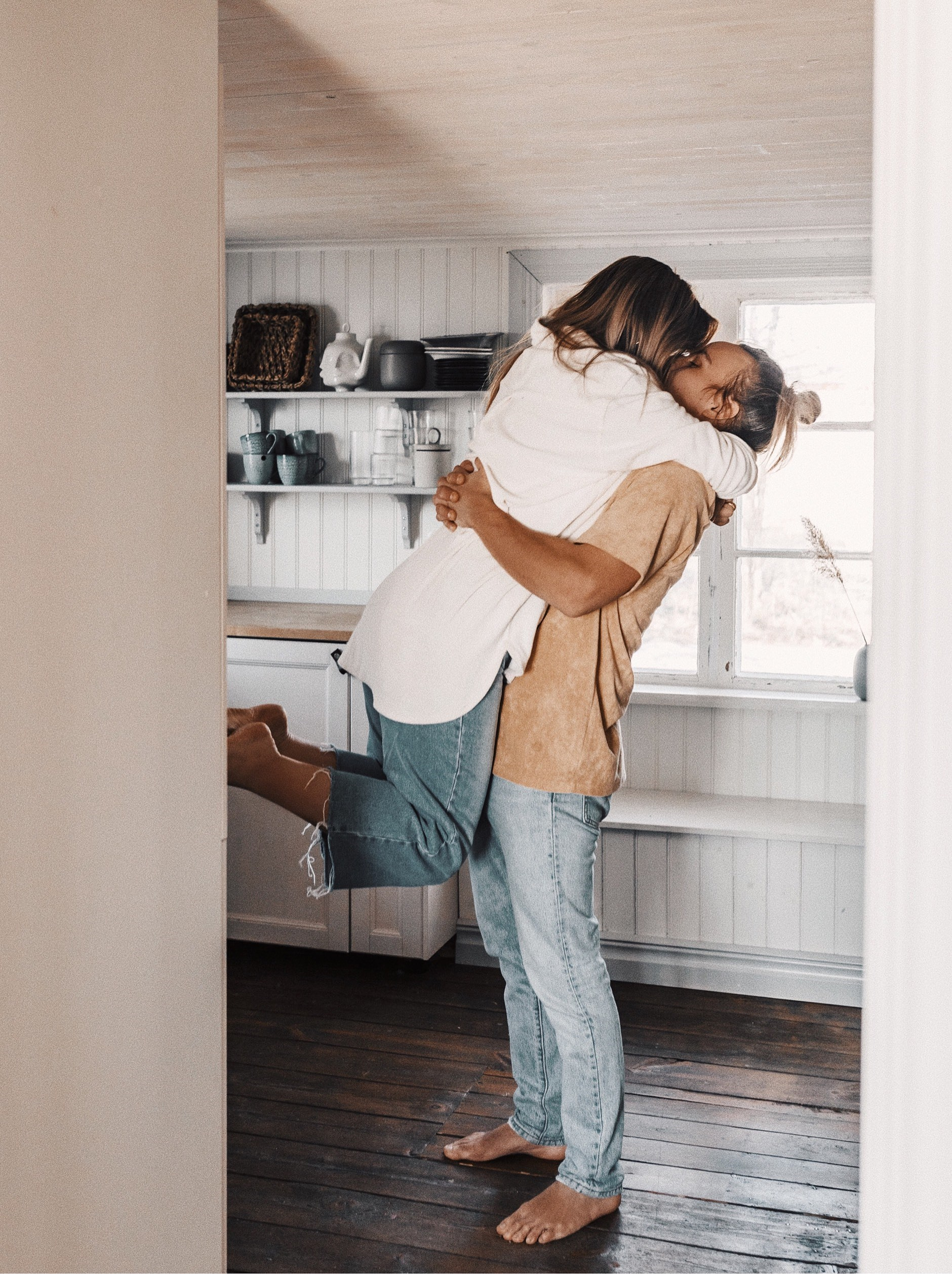 ME - WHEN HE IS BACK HOME