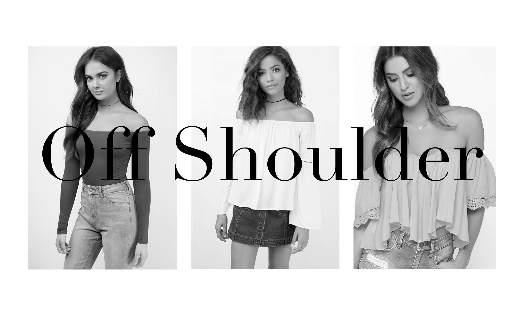 H&M : Off Shoulder