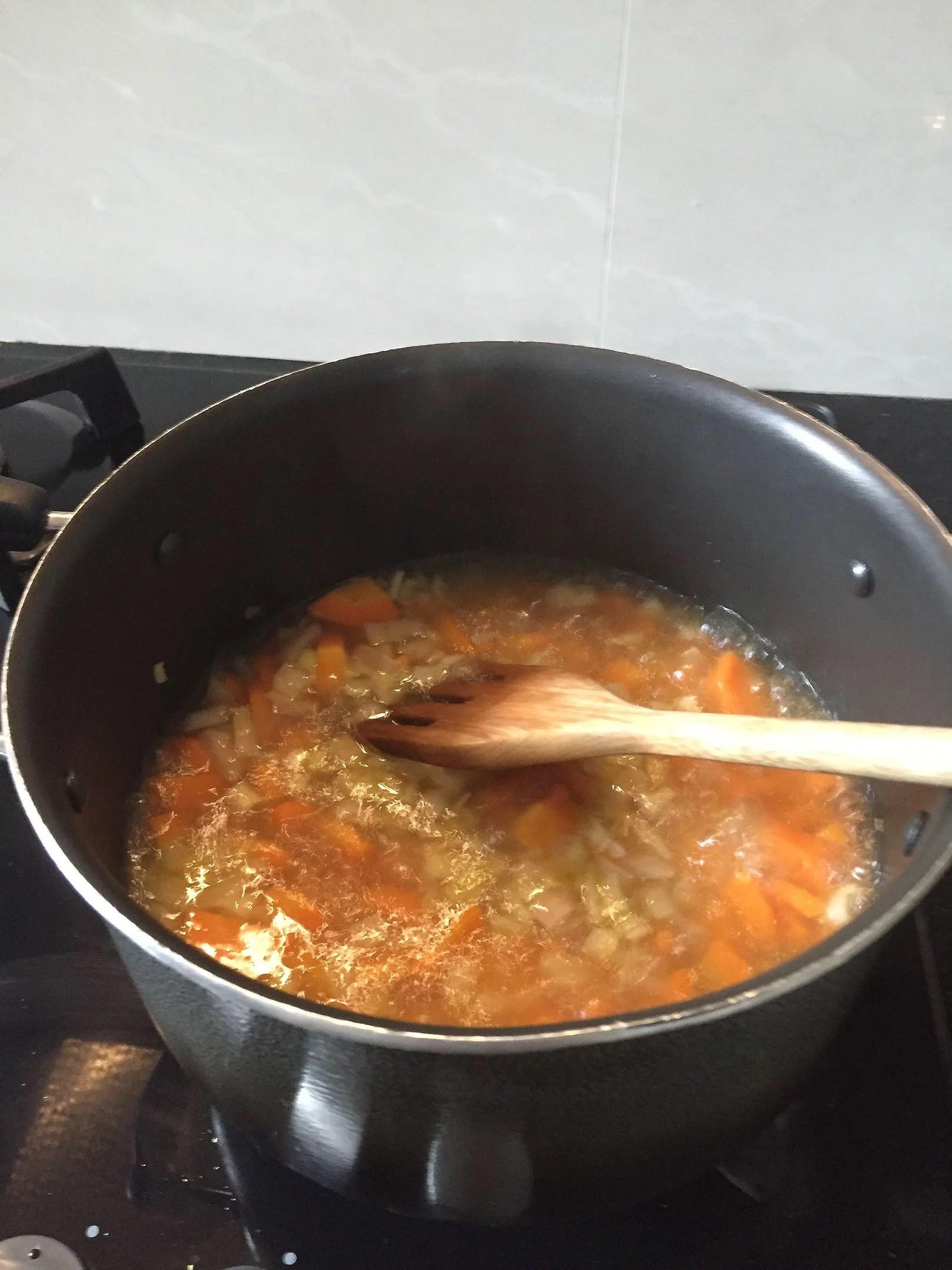 Den bästa morotssoppan i stada