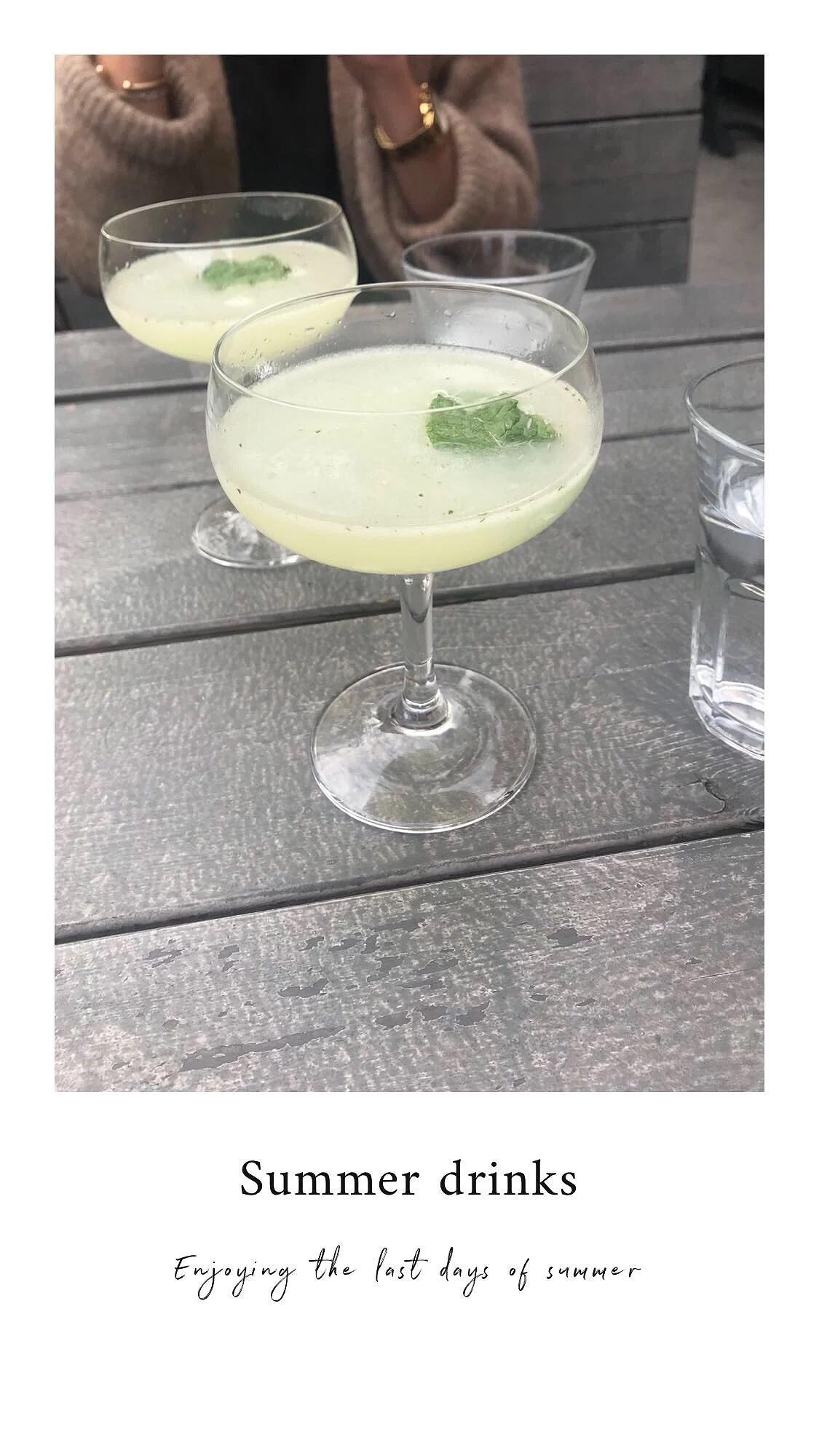 Drinks and Liseberg