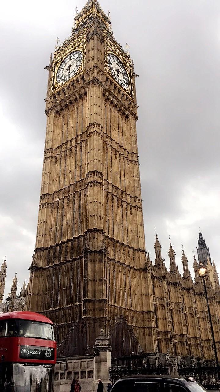 Första dygnet i London