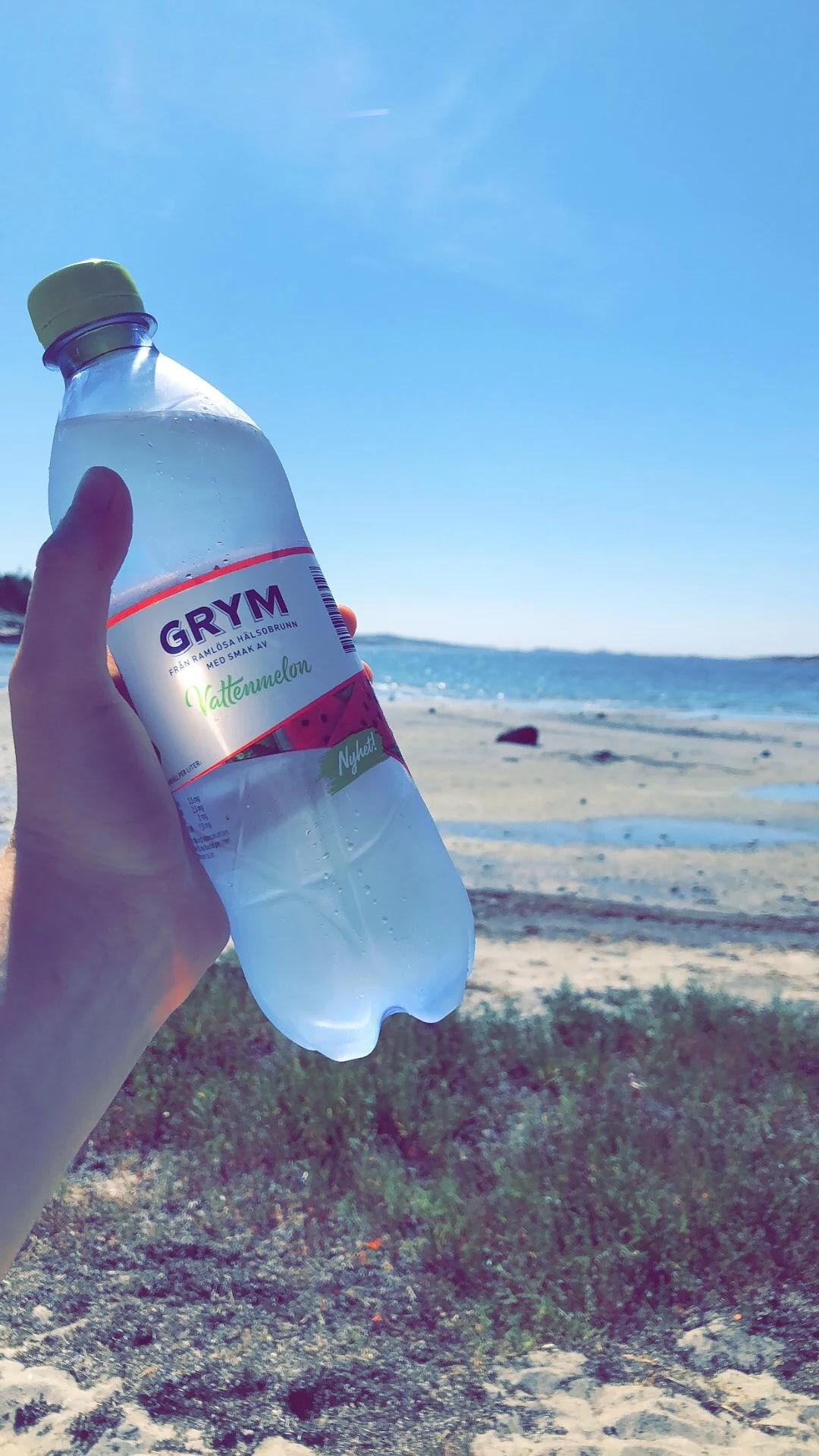Toppendag på stranden