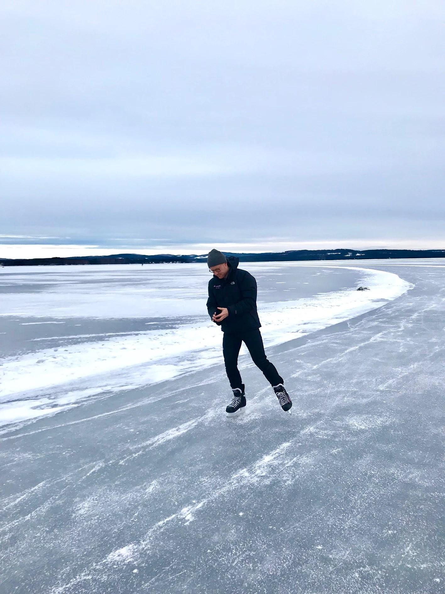 Förmiddag på sjön sen till Borlänge!