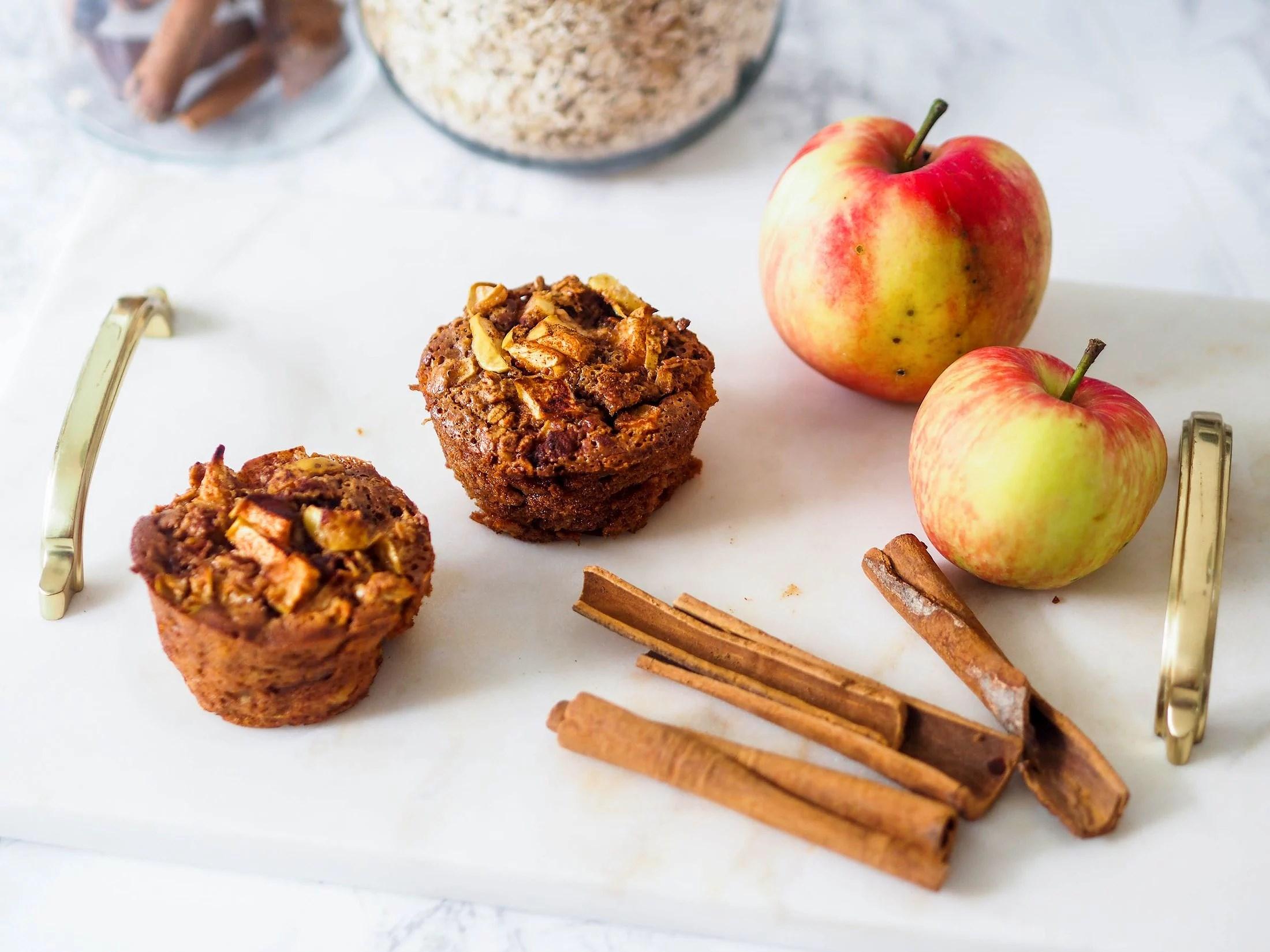 sukkerfrie eplemuffins