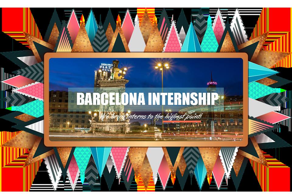 Do your internship in Barcelona!