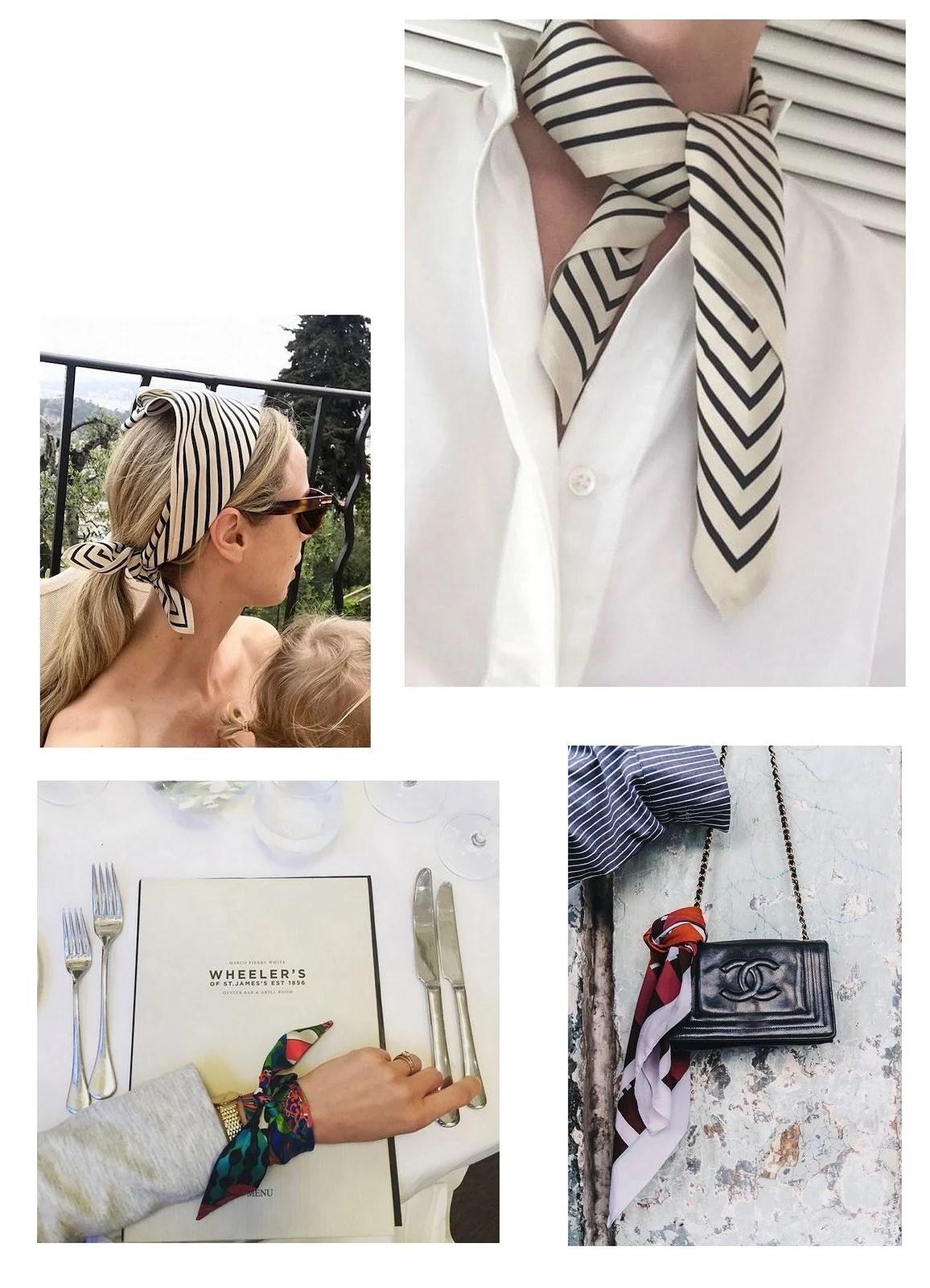 Fashion crush: Silk scarf