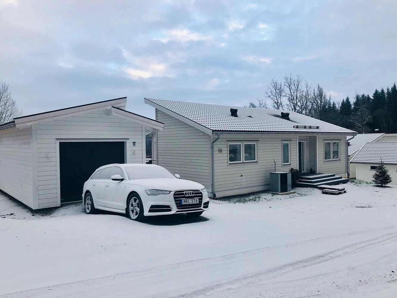 Så kom snön!