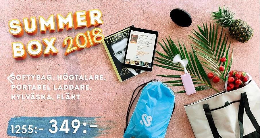 Sverigetröja på köpet + sommarbox
