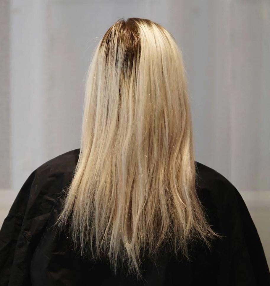 Blond bombshell makeover!
