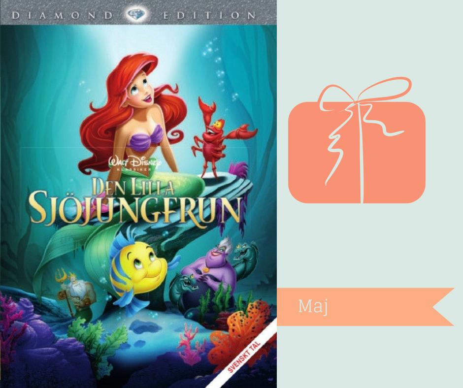 Disneyfilmer jag vill se om - Den lilla sjöjungfrun