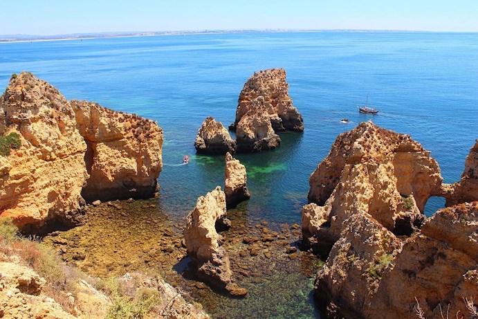 Ponta de Piedade Algarve Portugal must see