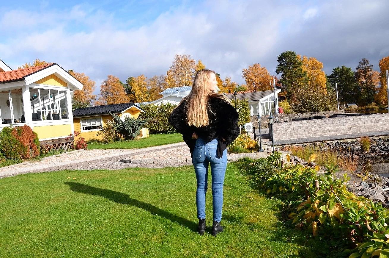 Jeans & päls