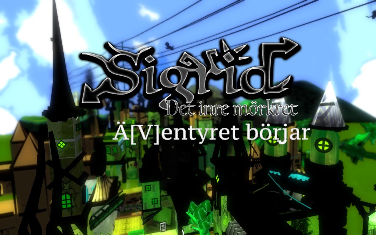 Mitt första egna datorspel Sigrid: Det inre mörkret - kapitel 1 är ute nu !!