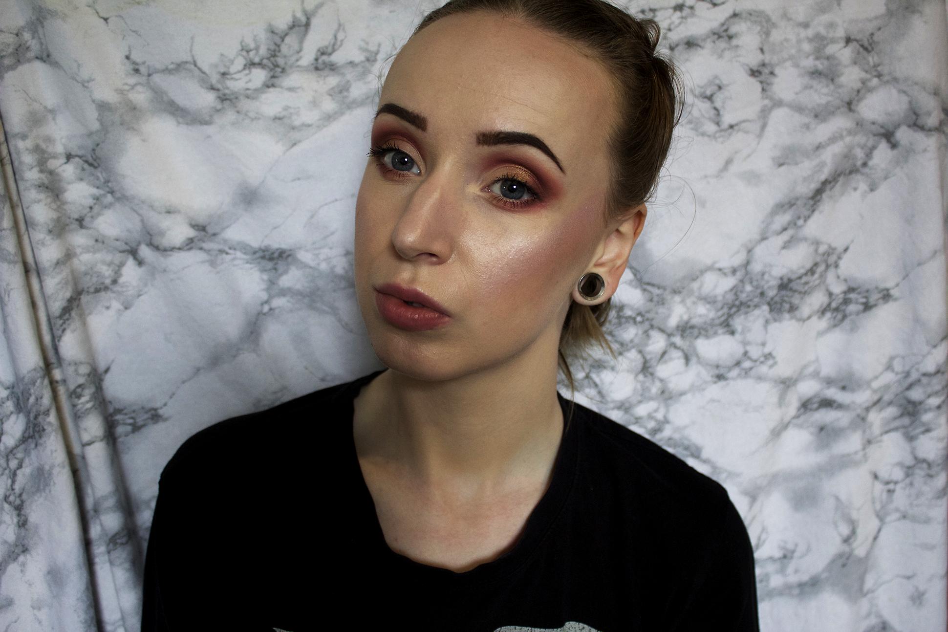 Makeup look: todays look