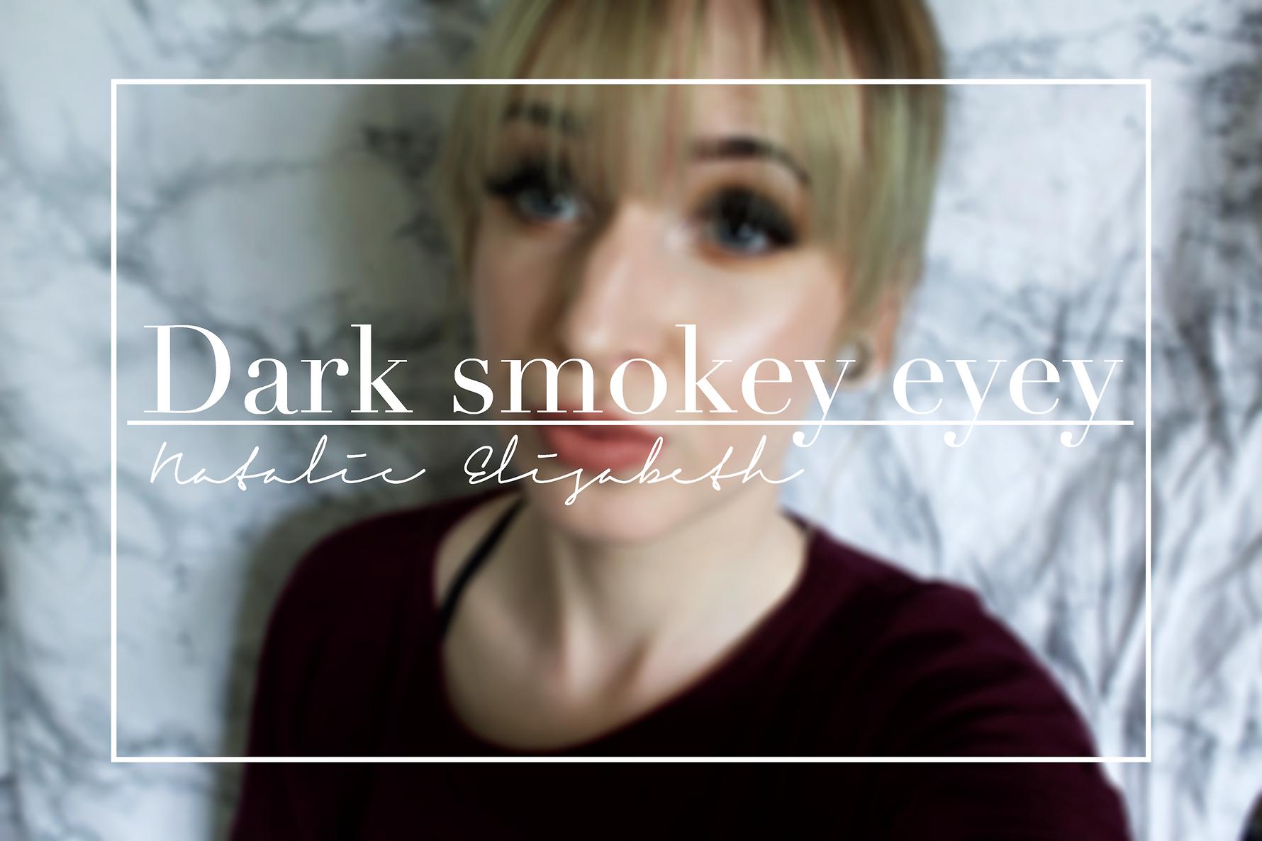 Sminkning: Dark smokey eye
