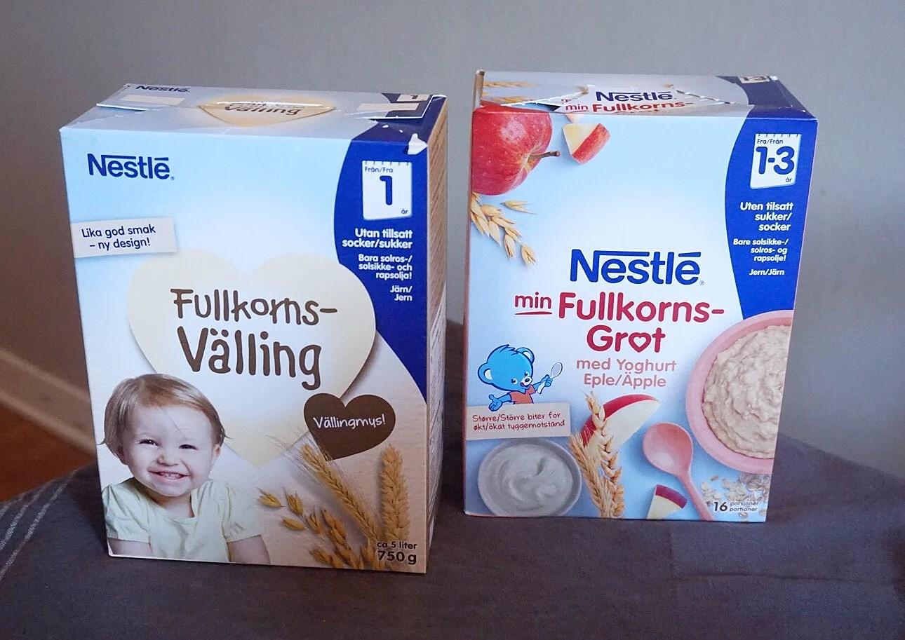 Edgar testar Nestlé Välling & Gröt!