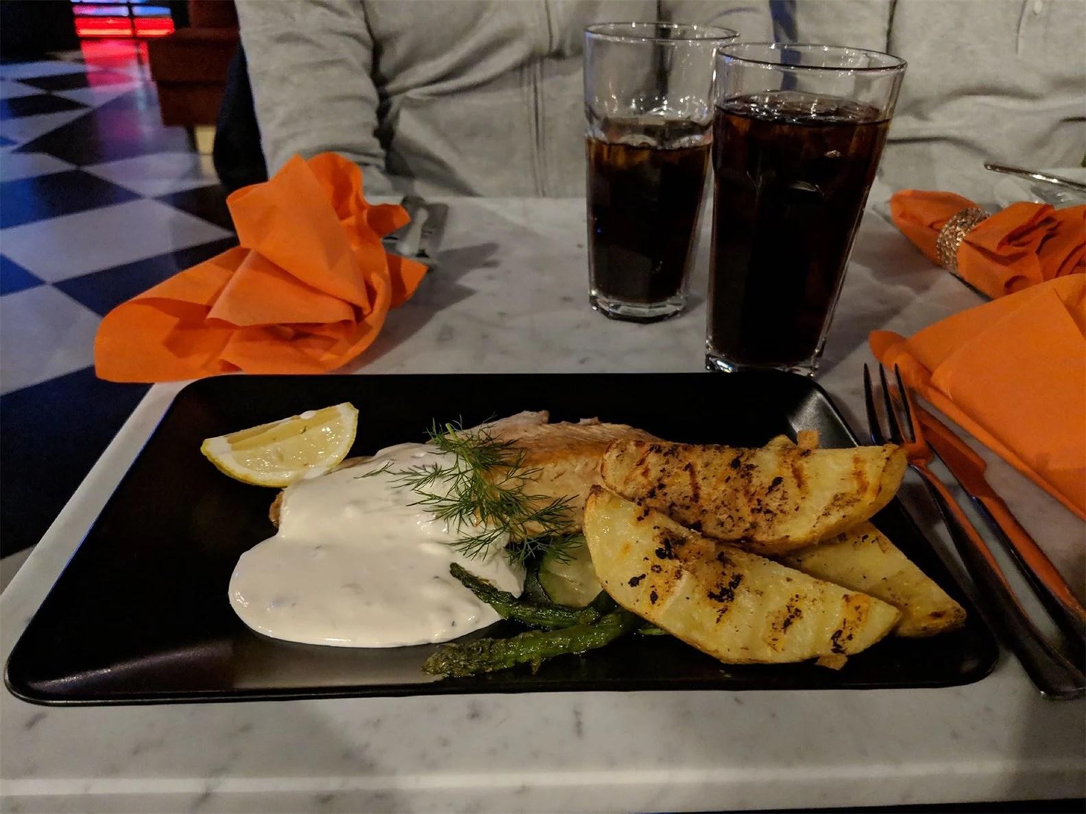 Dålig kock på nyöppnad restaurang