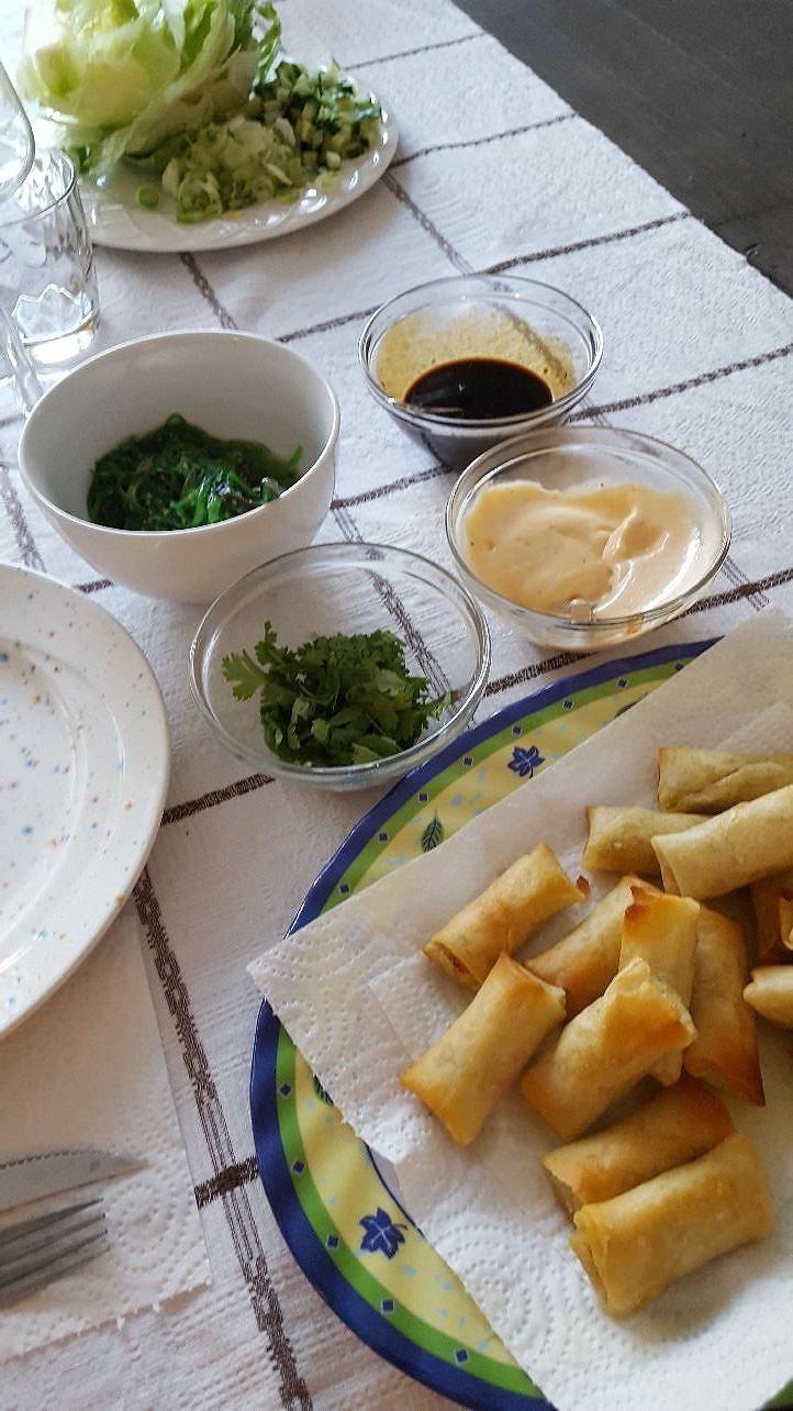 Cena asiatica, asiatisk middag