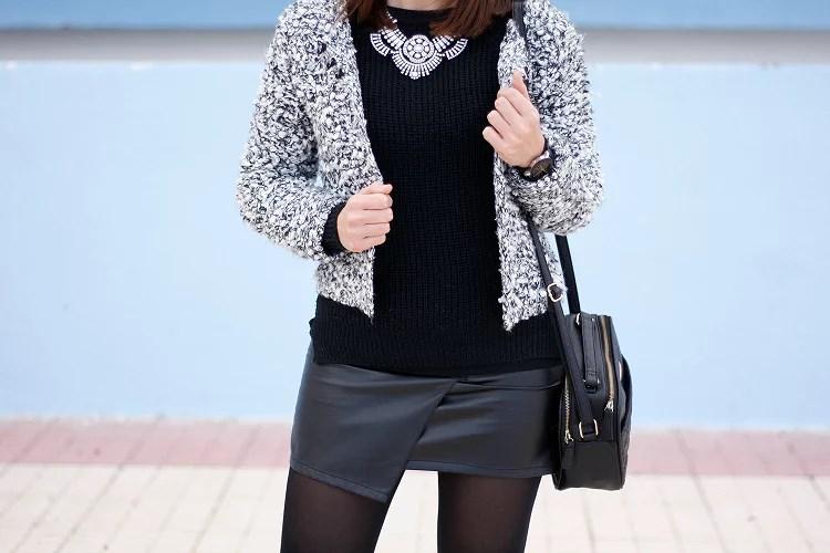La elegancia del blanco y el negro