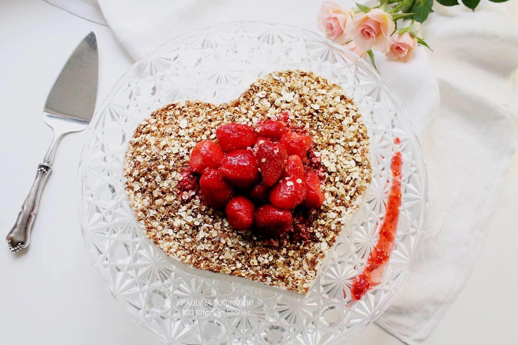 French Vanilla Protein Cheesecake